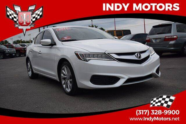 2018 Acura ILX for sale at Indy Motors Inc in Indianapolis IN
