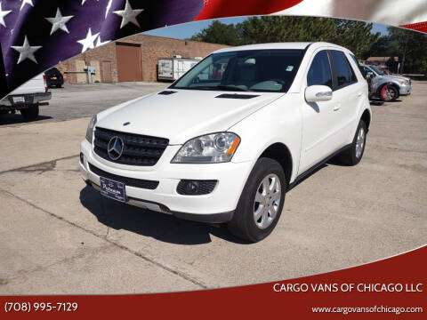 2006 Mercedes-Benz M-Class for sale at Cargo Vans of Chicago LLC in Mokena IL