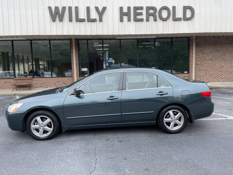 2005 Honda Accord for sale at Willy Herold Automotive in Columbus GA