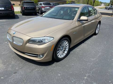 2012 BMW 5 Series for sale at Luxury Auto Innovations in Flowery Branch GA