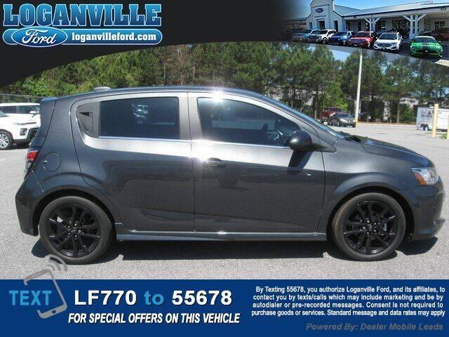 2018 Chevrolet Sonic for sale in Loganville, GA