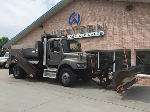 2010 Freightliner M2 Plow Truck for sale at Western Specialty Vehicle Sales in Braidwood IL