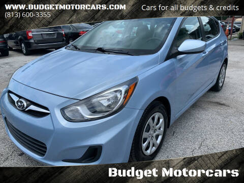 2012 Hyundai Accent for sale at Budget Motorcars in Tampa FL