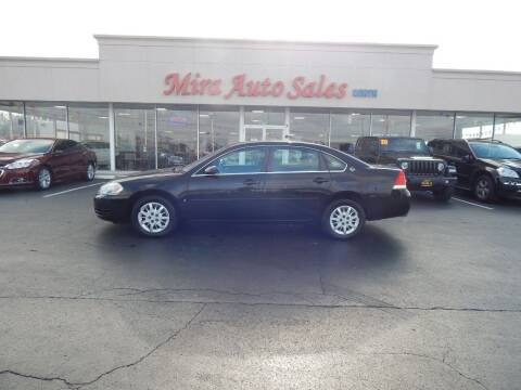 2007 Chevrolet Impala for sale at Mira Auto Sales in Dayton OH