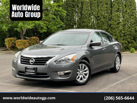 2015 Nissan Altima for sale at Worldwide Auto Group in Auburn WA