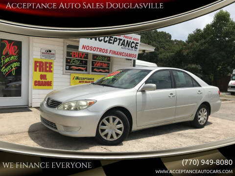 2005 Toyota Camry for sale at Acceptance Auto Sales Douglasville in Douglasville GA