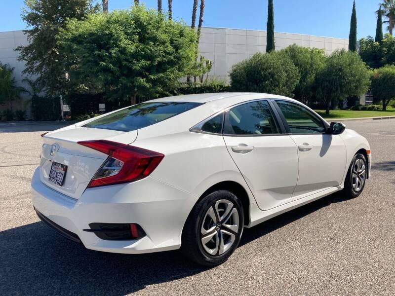 2018 Honda Civic LX 4dr Sedan CVT - Van Nuys CA