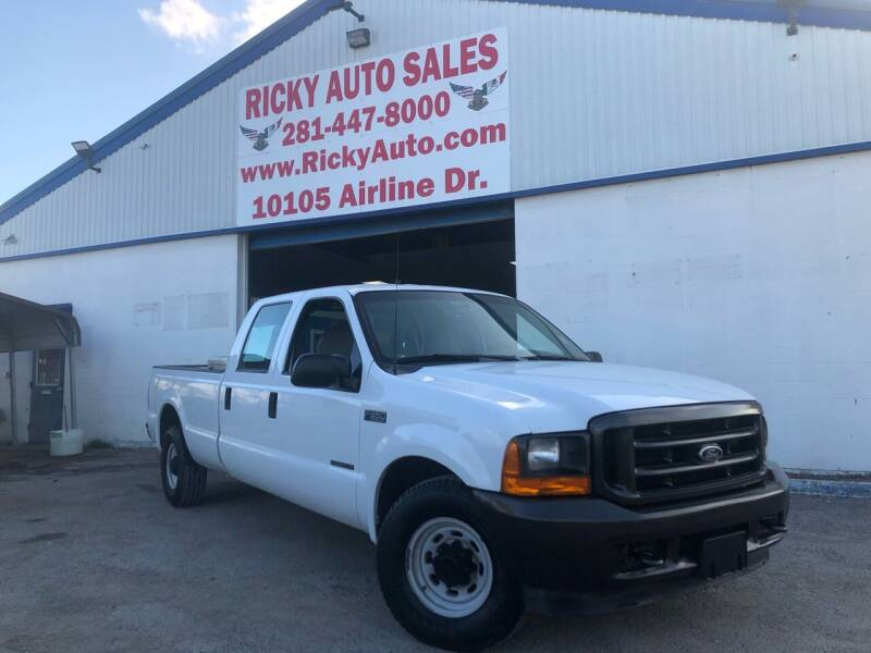 2001 Ford F-350 Super Duty for sale at Ricky Auto Sales in Houston TX
