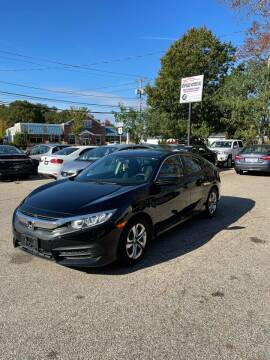 2016 Honda Civic for sale at NEWFOUND MOTORS INC in Seabrook NH