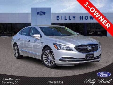 2017 Buick LaCrosse for sale at BILLY HOWELL FORD LINCOLN in Cumming GA
