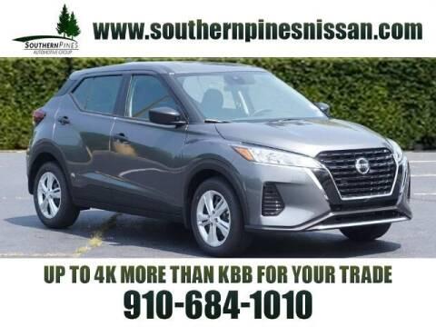 2021 Nissan Kicks for sale at PHIL SMITH AUTOMOTIVE GROUP - Pinehurst Nissan Kia in Southern Pines NC