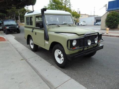 1988 Land Rover Defender for sale at Santa Monica Suvs in Santa Monica CA