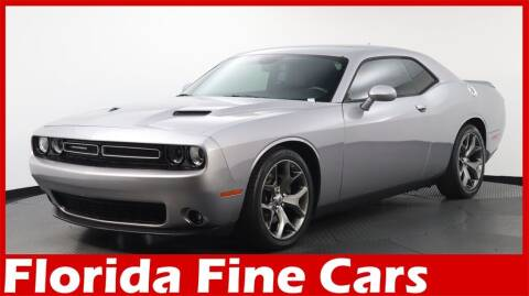 2017 Dodge Challenger for sale at Florida Fine Cars - West Palm Beach in West Palm Beach FL