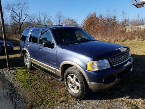 2002 Ford Explorer for sale at Country Auto Sales in Boardman OH