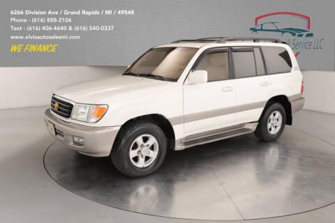 2000 Toyota Land Cruiser for sale at Elvis Auto Sales LLC in Grand Rapids MI
