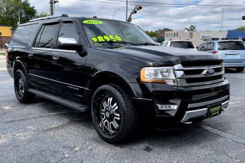 2016 Ford Expedition EL for sale at Island Auto in Grand Island NE