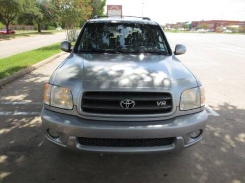 2004 Toyota Sequoia for sale at MOTORS OF TEXAS in Houston TX