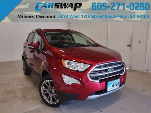 2019 Ford EcoSport for sale at CarSwap in Sioux Falls SD