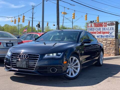 2012 Audi A7 for sale at L.A. Trading Co. in Woodhaven MI