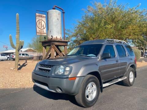 2003 Nissan Xterra for sale at Double H Auto Exchange in Queen Creek AZ