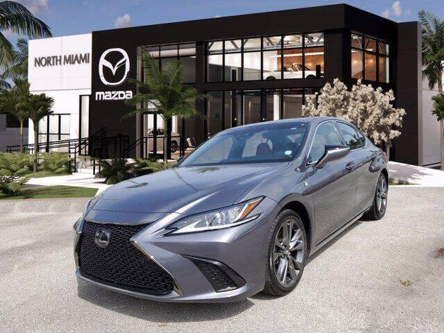 2019 Lexus ES 350 for sale at Mazda of North Miami in Miami FL