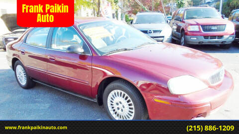 2005 Mercury Sable for sale at Frank Paikin Auto in Glenside PA