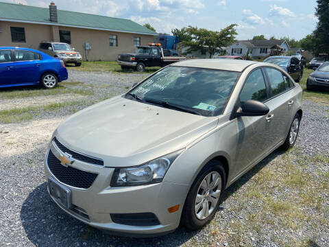 2014 Chevrolet Cruze for sale at US5 Auto Sales in Shippensburg PA