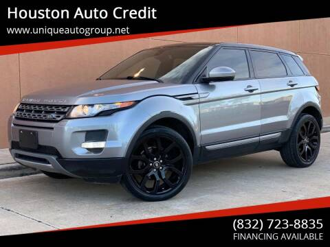 2015 Land Rover Range Rover Evoque for sale at Houston Auto Credit in Houston TX