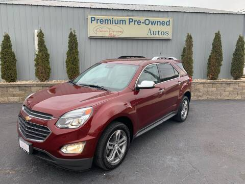 2017 Chevrolet Equinox for sale at PREMIUM PRE-OWNED AUTOS in East Peoria IL