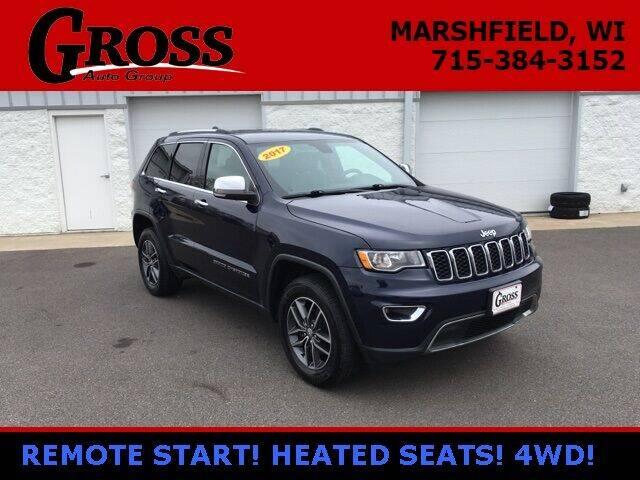 2017 Jeep Grand Cherokee for sale at Gross Motors of Marshfield in Marshfield WI