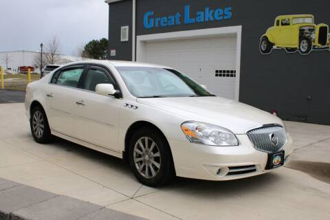 2010 Buick Lucerne for sale at Great Lakes Classic Cars & Detail Shop in Hilton NY