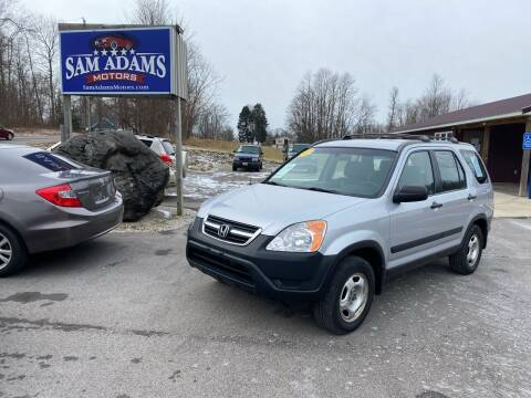 2002 Honda CR-V for sale at Sam Adams Motors in Cedar Springs MI
