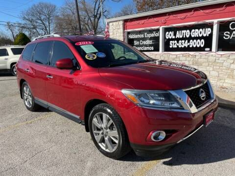 2013 Nissan Pathfinder for sale at GOL Auto Group in Austin TX