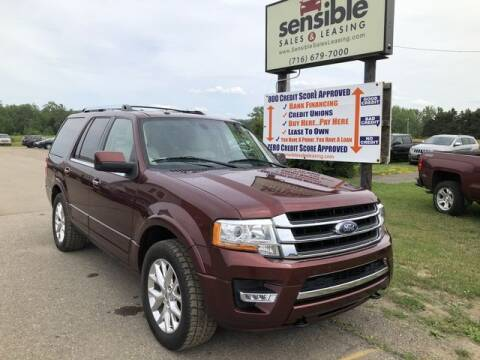 2015 Ford Expedition for sale at Sensible Sales & Leasing in Fredonia NY