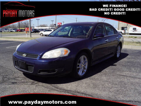 2009 Chevrolet Impala for sale at Payday Motors in Wichita And Topeka KS