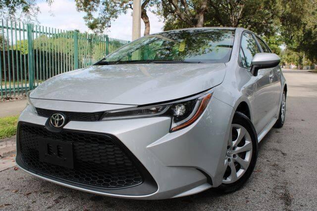 2020 Toyota Corolla for sale at OCEAN AUTO SALES in Miami FL