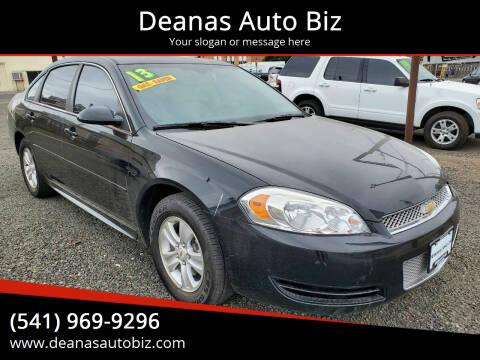 2013 Chevrolet Impala for sale at Deanas Auto Biz in Pendleton OR