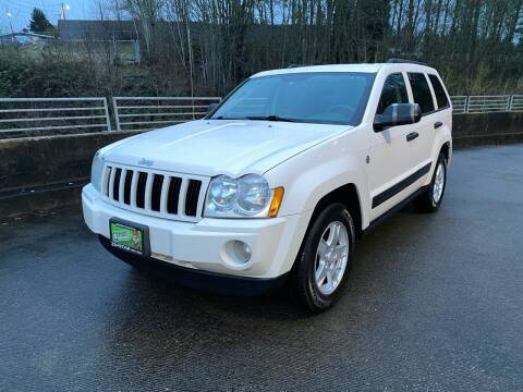 2006 Jeep Grand Cherokee for sale at Zipstar Auto Sales in Lynnwood WA