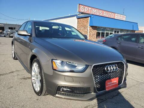 2014 Audi A4 for sale at Optimus Auto in Omaha NE