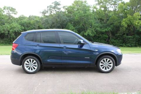2014 BMW X3 for sale at Clear Lake Auto World in League City TX