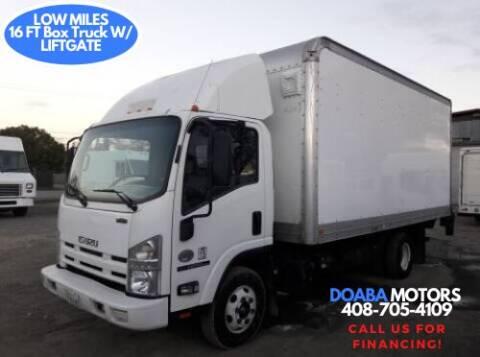 2011 Isuzu NPR-HD for sale at DOABA Motors - Box Truck in San Jose CA
