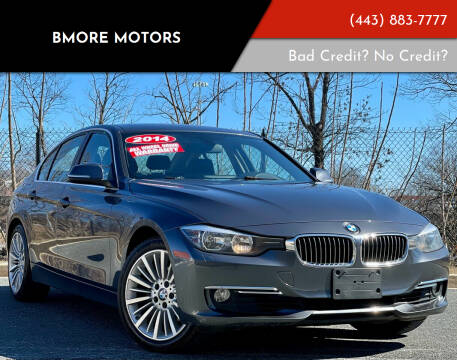 2014 BMW 3 Series for sale at Bmore Motors in Baltimore MD