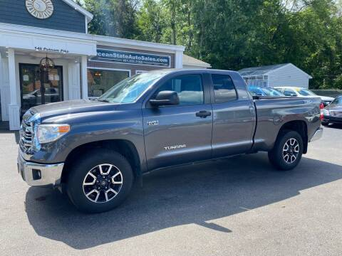 2017 Toyota Tundra for sale at Ocean State Auto Sales in Johnston RI