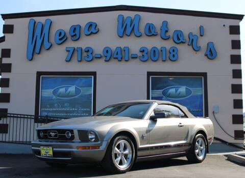 2009 Ford Mustang for sale at MEGA MOTORS in South Houston TX