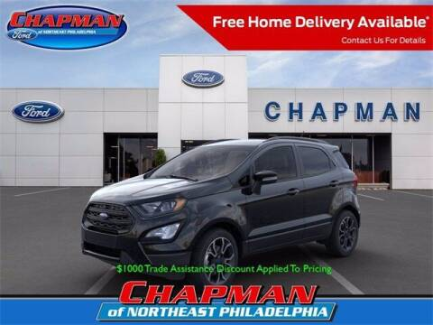 2020 Ford EcoSport for sale at CHAPMAN FORD NORTHEAST PHILADELPHIA in Philadelphia PA