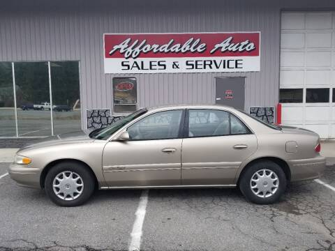 2001 Buick Century for sale at Affordable Auto Sales & Service in Berkeley Springs WV