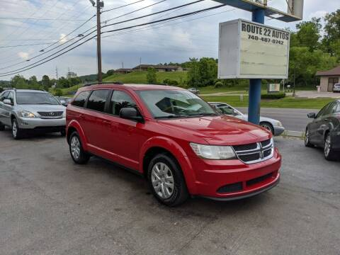 2017 Dodge Journey for sale at Route 22 Autos in Zanesville OH