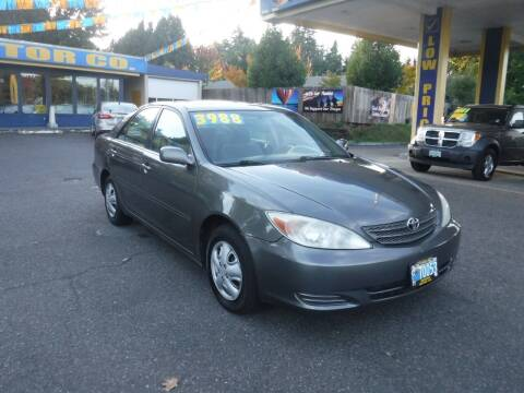 2004 Toyota Camry for sale at Brooks Motor Company, Inc in Milwaukie OR