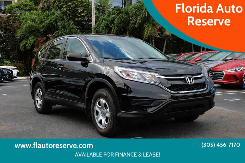 2016 Honda CR-V for sale at Florida Auto Reserve in Medley FL