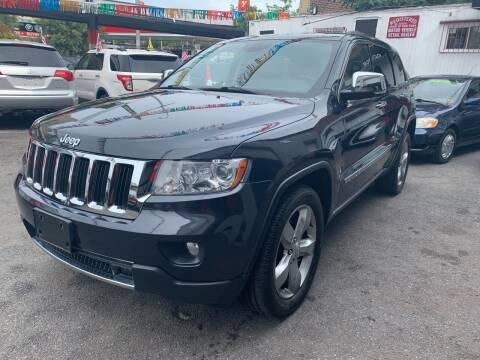 2012 Jeep Grand Cherokee for sale at Gallery Auto Sales in Bronx NY